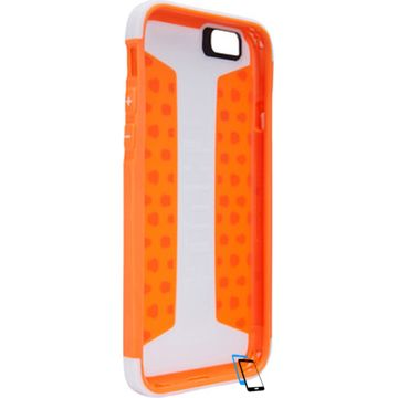 Thule Atmos X3 iPhone 6 Plus-6s Plus TAIE3125WT-SKOR Weiß-Shocking Orange
