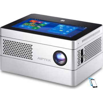 Aiptek Pico iBeamBlock L400 Deluxe Projector Silber