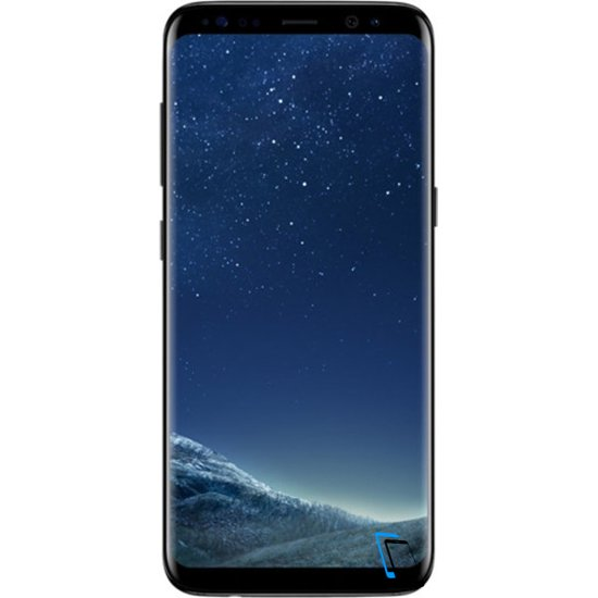 Samsung Galaxy S8 Dual SIM 64GB SM-G950FD Midnight Schwarz