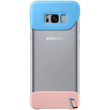 Samsung S8 Plus 2 Piece Cover EF-MG955 Peach Blau