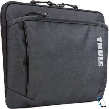 Thule Subterra MacBook Sleeve 15 inch TSS315 Dunkel Grau