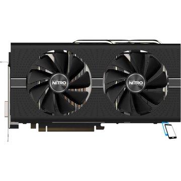 SAPPHIRE Radeon NITRO Plus RX 580 8GB GDDR5 DUAL HDMI 11265-21-20G Schwarz