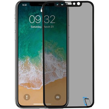 Benks Apple iPhone X KR Plus Pro 3D PET - Series Schwarz