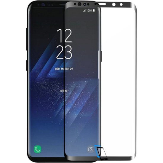 Benks Samsung S9 Plus X Pro Plus Series Full size Tempered Glass 0.33mm Schwarz
