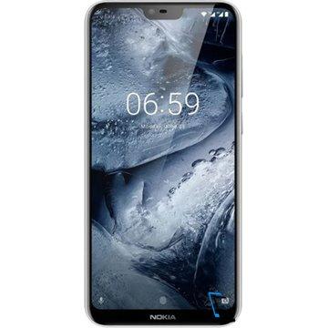 Nokia 6.1 Plus Dual SIM 64GB 4GB RAM Weiß