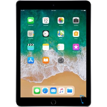 Apple iPad 9.7 (2018) Wi-Fi + Cellular 128GB Grau