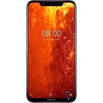 Nokia 8.1 Dual SIM 64GB 4GB RAM TA-1119 Iron Schwarz