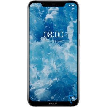 Nokia 8.1 Dual SIM 64GB 4GB RAM TA-1119 Steel Silber