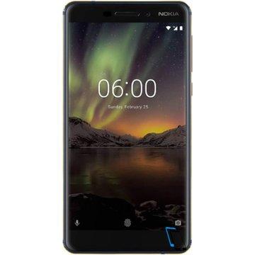 Nokia 6.1 Dual SIM 32GB 3GB RAM TA-1043 Blau-Gold