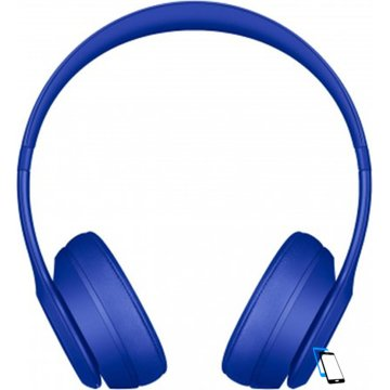 Beats Solo3 Wireless On-Ear Headphones Neighborhood Collection Break Blau