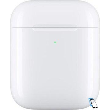 Apple AirPods wireless charging case Weiß