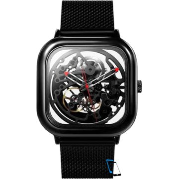 Xiaomi MI CIGA Design Hollowed-out Mechanical Watch Schwarz
