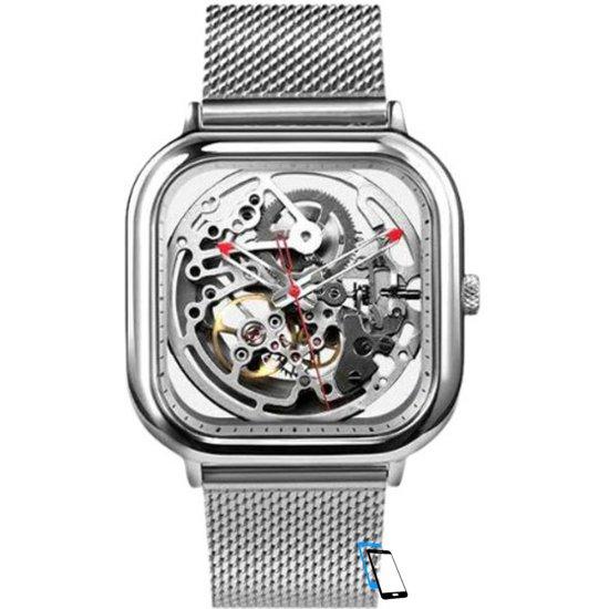Xiaomi MI CIGA Design Automatic Mechanical Men Watch Silber