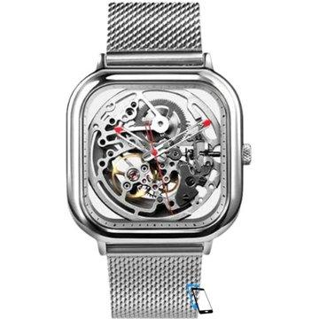 Xiaomi MI CIGA Design Hollowed-out Mechanical Watch Silber