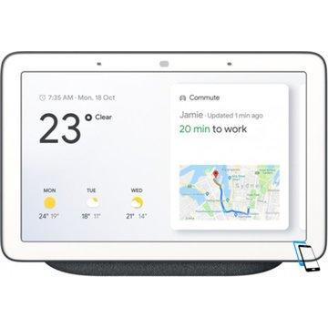 Google Home Hub Charcoal Schwarz