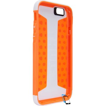 Thule Atmos X3 iPhone 6 Plus-6s Plus TAIE3125WT-SKOR Weiß-Shocking Orange