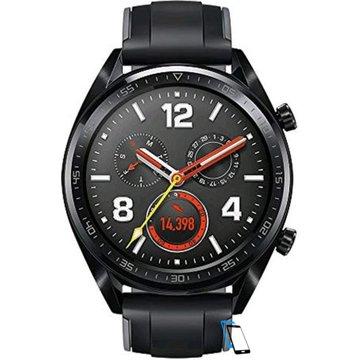 Huawei Watch GT Sport Silicone Strap FTN-B19 Graphit-Schwarz