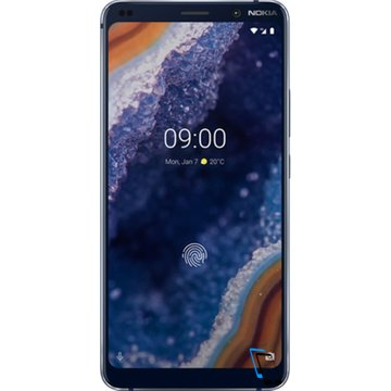 Nokia 9 PureView Dual SIM 128GB 6GB RAM Midnight Blau